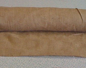 Extra Wide Burlap Custom Made Aisle Runner 50 ft with pull cord and Extra wide 20 Foot Burlap Runner