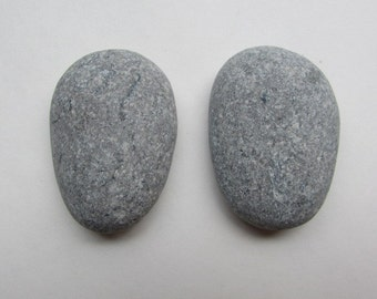 Natural Stone Cabinet Knobs BLUE WHALE Large Beach Stone Cabinet Knobs
