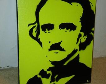 Edgar Allen Poe (green)