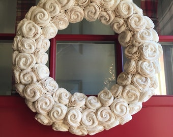 17 inch Sola Flower eco friendly wreath