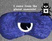 Royal Blue Cyclops Sleep Masks, Monster Themed Eye Masks, for Naptime, Travel, and Sleep