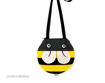 Cute Bumble Bee Purse - Gift for Toddler Girls - First Purse - Cross Body Purse - Cute Animal Bag - Girls Birthday Gift