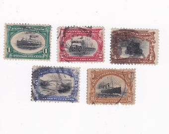 1901 Pan American US Postage Stamps