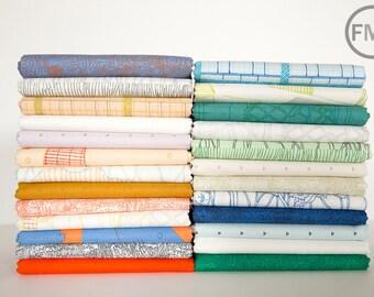 Friedlander Complete Collection Fat Quarter Bundle, 25 Pieces, Carolyn Friedlander, Robert Kaufman Fabrics, 100% Cotton Fabric, AFR