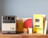 Vintage Kodak PartyTime II Kodamatic Instant Film Camera with full Outfit