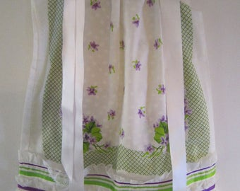 Sweet Violets Pillowcase Dress
