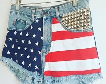 The USA shorts