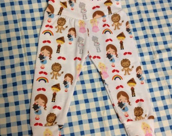 Land of Oz Leggings Custom Size Infant Girl LIMITED
