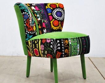 50's Clubchair - green love