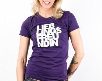 Lieblingsfreundin - Fair Trade T-Shirt Damen
