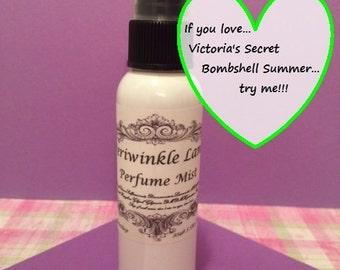 Victoria's Secret Bombshell Summer type Perfume Mist