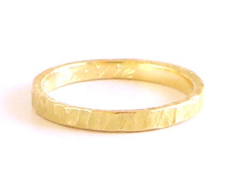 Fairmined gold wedding band ring gold to be proud of minimal hammered design custom weddind & promise gold 14k or 18k to choose fair love