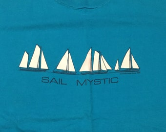 Vintage 1982 Sail Mystic T-Shirt