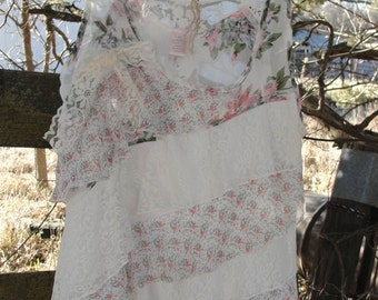 Lace ruffled top, shabby lace top, lace ruffled, lace tops, ruffled top, lace ruffled, shabby top, lacey top, mori top