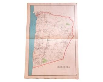 Antique Greenburgh NY Map