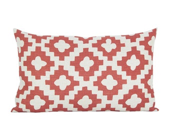 Peterazzi lumbar pillow cover in Red