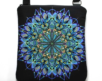 Black Crossbody Bag - Sling Bag - Cross Body Shoulder Purse - Black Bag - Black Purse - Black Hobo Bag - Zipper Crossbody Bag  Ready To Ship