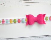 Easter Bow Headband, Easter Headband, Baby Easter Headband, Girls Easter Headband - Newborn Easter Bow