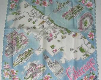 Chicago Vintage City Hankie