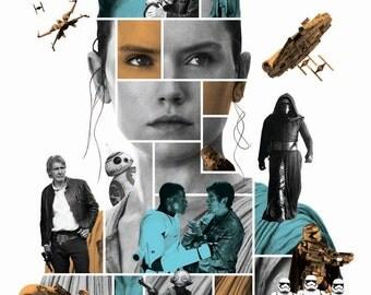 The Force Awakens Film Poster