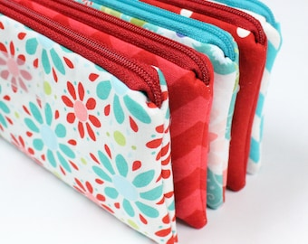 Cash Envelope System - Cash Budget System - 5 Cash Budget Envelopes with Zippers - Ready to Ship