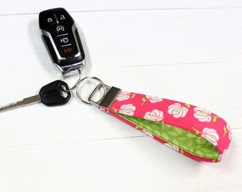 SALE - Key Fob - Key Ring - Wristlet - Ready To Ship