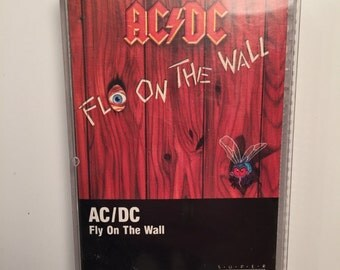 AC/DC Fly On The Wall cassette tape