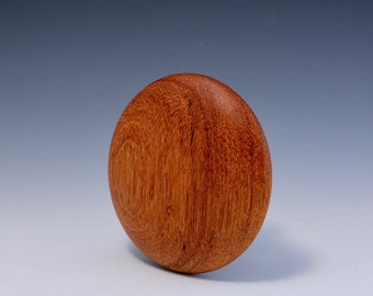 """A  4"""" Doussie Round Wooden Rib for Throwing Perfect Bowls Re-design ((© Copy right #TXu 1-961-453) by Hsinchuen Lin 林新春"""