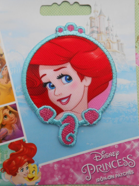 Iron On Embroidered Patch Ariel Disney Princess From