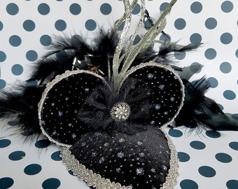 Sparkle and Shine New Year's Eve Party Hat FascinEar™ Mouse Ear Fascinator