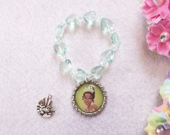 10 Tiana Bracelets Party Favors