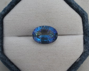 Rainbow Mystic Topaz Oval Gem 14 x 10mm