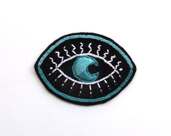 Hand Embroidered Magic Eye Patch