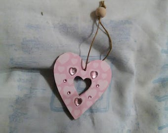 Heart Decoration, Handmade