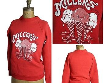 on sale Vintage Ice Cream Sweatshirt