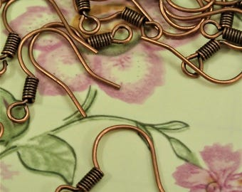50/150/300pcs Assorted Color Earring Hooks