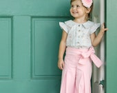 BLACK FRIDAY SALE Whitney Trousers & Skirt Pdf Pattern and Tutorial, All sizes 2- 10 years included
