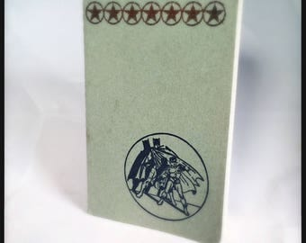 Batman Bat-journal Grey Moleskine Cahier Notebook