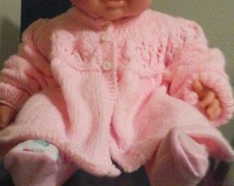 Handmade knit sweater