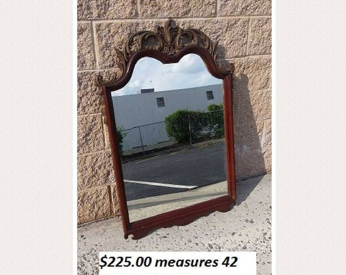 Vintage french provincial ornate mirror  PICK UP ONLY painting inc. vintage painted bedroom dresser mirror, traditional, france, distressed
