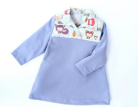 Jersey Knit Sewing Patterns : HIMALAYA Girl Baby Girl Dress sewing pattern Pdf Jersey Knit