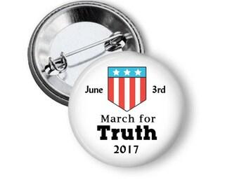 Political Pin Trump Russia Button Anti-Trump Pin B160