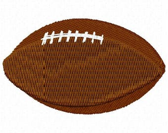 Football Machine Embroidery Design - Instant Download