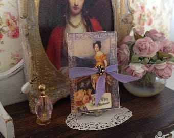 Jane Austen Fashion Plates with Folder for Dollhouse and Playsize Scales