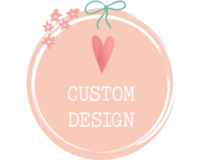 Custom Wedding Palette Vinyl Lettering