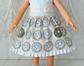 Disney Animator Doll dress and crochet shoes  Ready To Ship