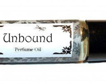 UNBOUND - Roll on Premium Perfume Oil - 2 sizes to choose from - 1/3 oz or 1/6 oz - fresh green tones and rich patchouli,  vanilla & Musk
