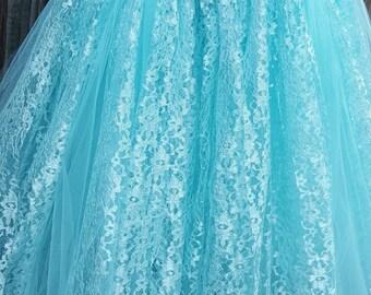 Lace and Tulle tutu dress