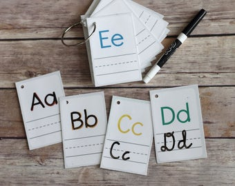 ABC Handwriting Flashcards