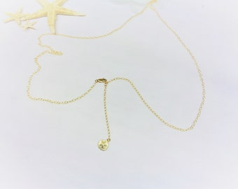 Gold Sandollar Belly Chain 14k Gold Filled Belly Chain 14k Gold Filled Tummy Chain Adjustable Tummy Chain Belt Marked 1/20 GF BuyAny3+1Free